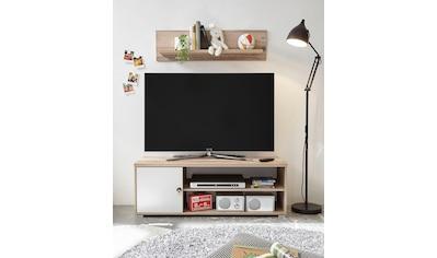 Begabino TV-Bank »Leni«, mit Seilgriff, im modernen Dekor Old Style hell kaufen