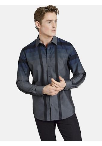 SHIRTMASTER Langarmhemd »blackcheck«, aus reiner Baumwolle kaufen