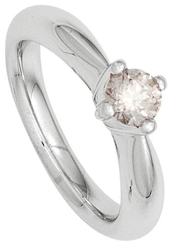 JOBO Solitärring, 585 Weißgold mit Diamant 0,25 ct. kaufen