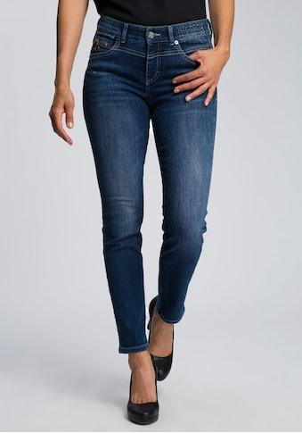 MAC Slim-fit-Jeans »Rich-Slim Glam«, Glitzernieten vorne und an den hinteren Taschen kaufen