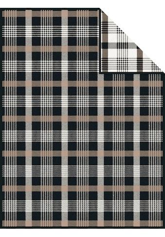 IBENA Wohndecke »Jacquard Decke Arklow«, mit Karodesign kaufen