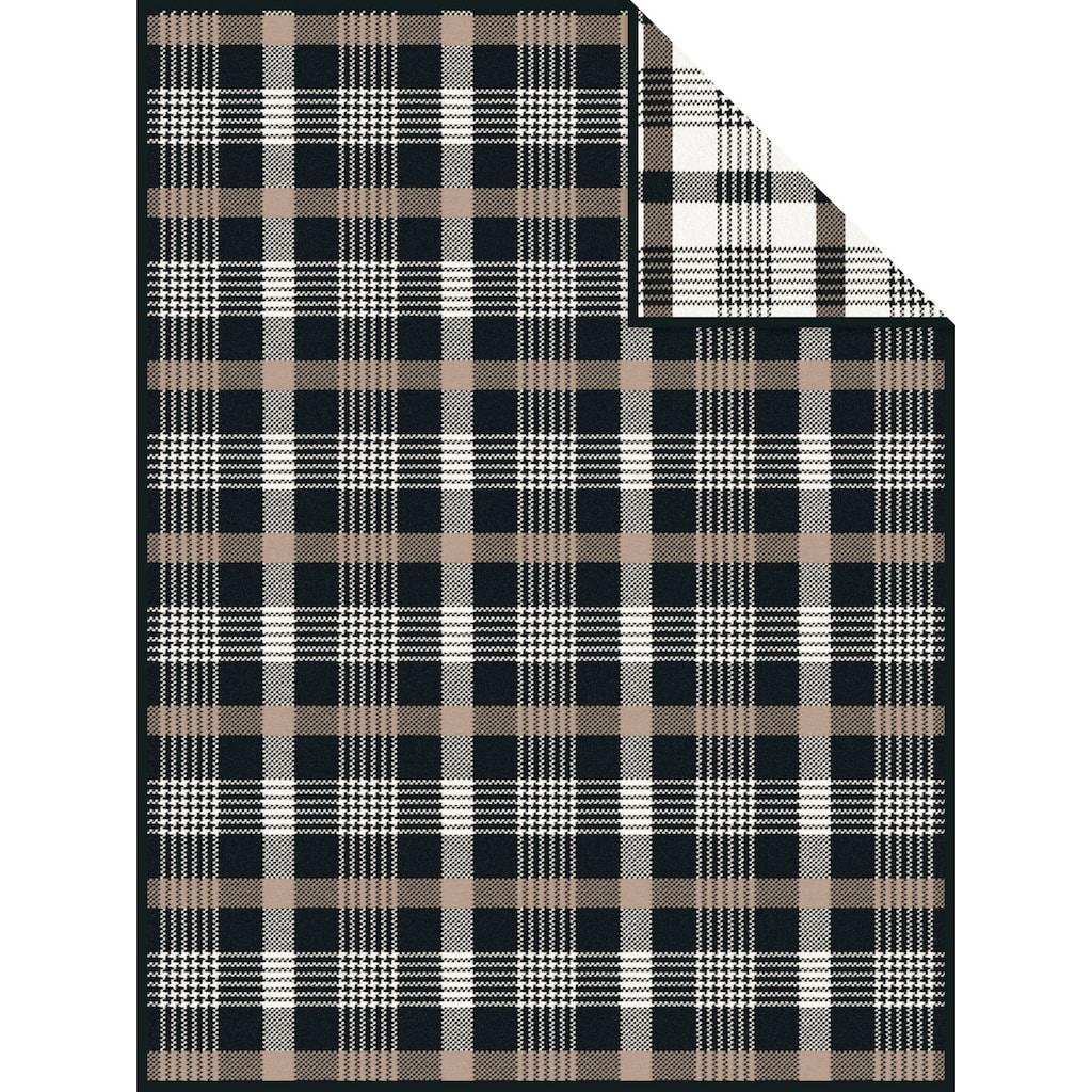 IBENA Wohndecke »Jacquard Decke Arklow«, mit Karodesign