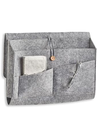Zeller Present Aufbewahrungstasche »Couch-Organizer, Filz, grau« kaufen