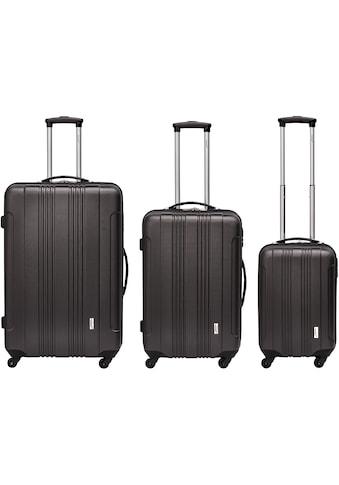 """Packenger Trolleyset """"Torreto, schwarz"""", 4 Rollen, (Set, 3tlg.) kaufen"""