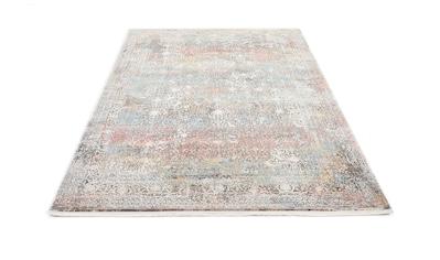 OCI DIE TEPPICHMARKE Teppich »Cava«, rechteckig, 8 mm Höhe, Glanz Viskose, mit Fransen, Wohnzimmer kaufen