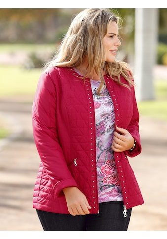 m. collection Steppjacke, mit Nietendeko kaufen