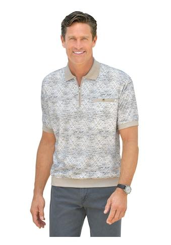 Classic Poloshirt mit markantem Druck kaufen