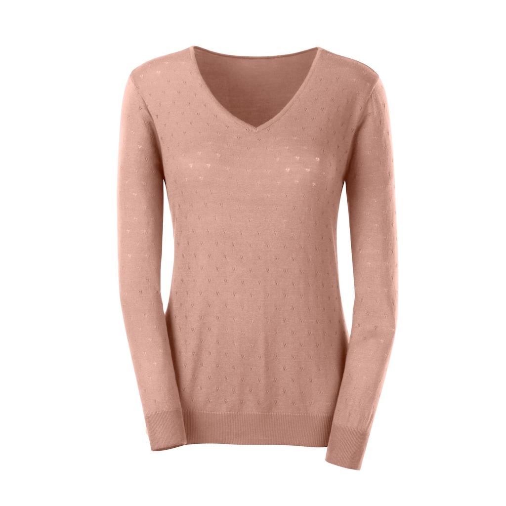 Inspirationen Ajourpullover »Pullover«