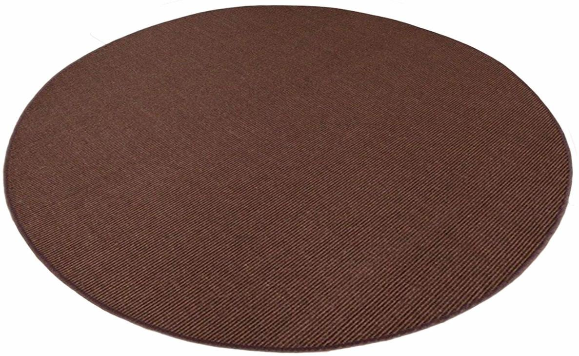 Living Line Sisalteppich Trumpf, rund, 6 mm Höhe, Obermaterial: 100% Sisal, günstig online kaufen