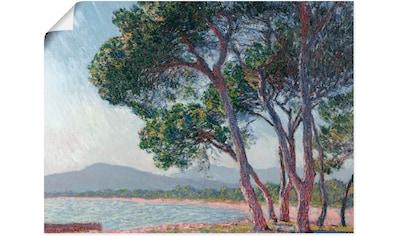 Artland Wandbild »Der Strand bei Juan - les - pins. 1888« kaufen