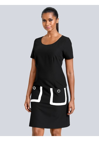 Alba Moda Kleid mit aufgesetzten Taschen kaufen