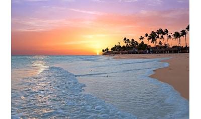 Papermoon Fototapete »Aruba Beach Sunset« kaufen