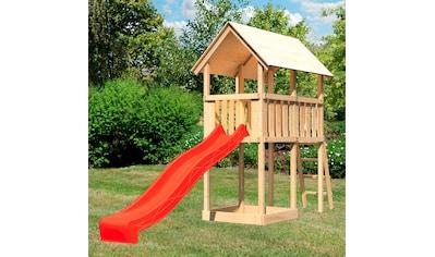 ABUKI Spielturm »Winnie«, BxTxH: 107x202x291 cm, mit Sandkasten, Rutsche, Leiter kaufen