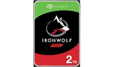 "Seagate HDD-NAS-Festplatte »IronWolf«, 3,5 "", Bulk, inkl. 3 Jahre Rescue Data Recovery... kaufen"