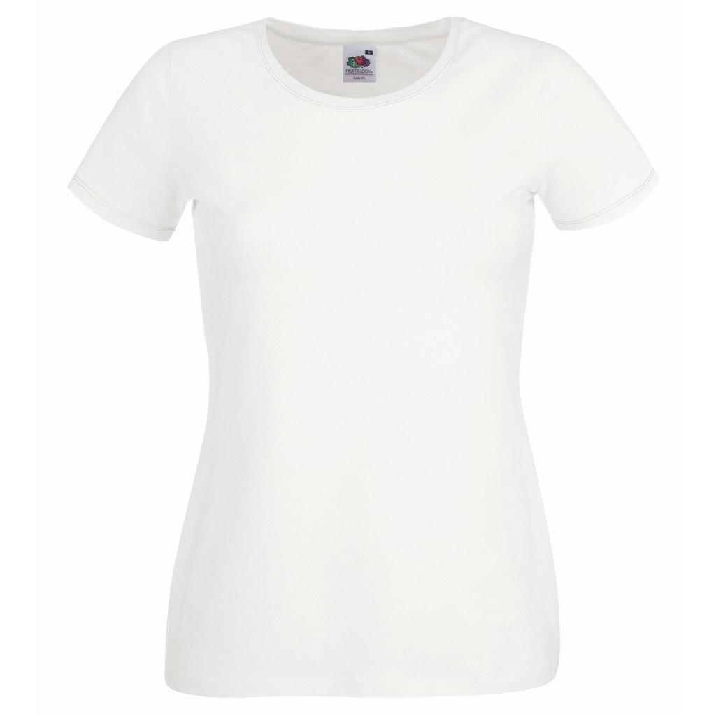 Fruit of the Loom T-Shirt »Lady-Fit Damen, Rundausschnitt«