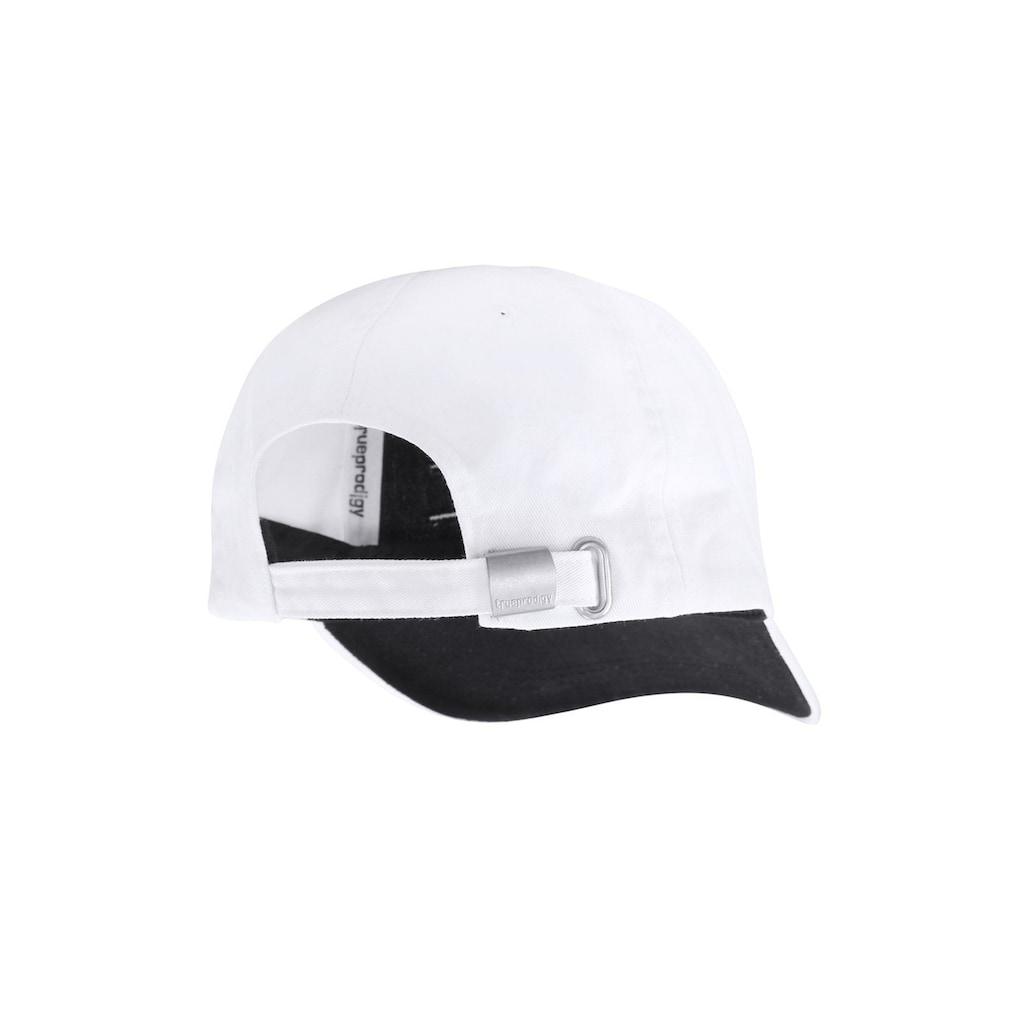 trueprodigy Baseball Cap »Dane white Cap«, mit Logostickerei und Destroy Effects