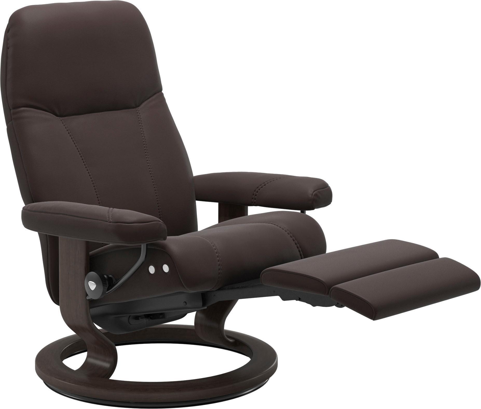 Stressless Relaxsessel Consul mit Classic Base und LegComfort? Größe L Gestell Wenge