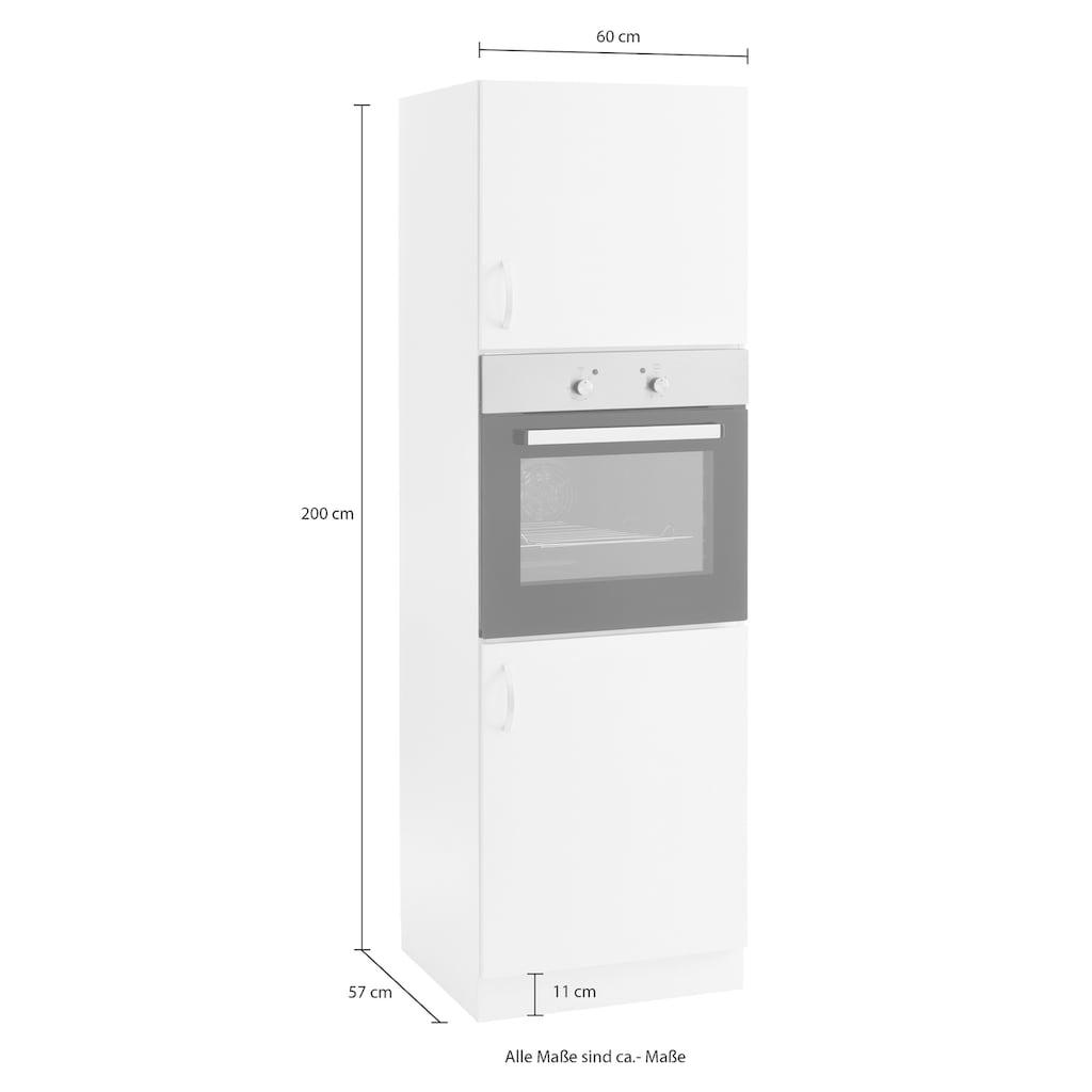 wiho Küchen Backofenumbauschrank »Flexi«, Höhe 200 cm