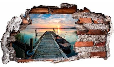 Wandtattoo »Sunset at the lake« kaufen