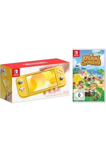 Nintendo Switch Konsolen-Set »Lite«, inkl. Animal Crossing kaufen