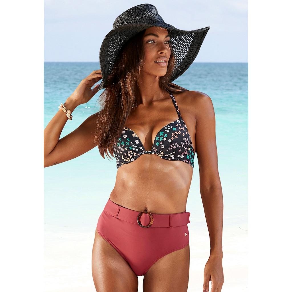 s.Oliver Push-Up-Bikini-Top »Milly«, im Blumendesign