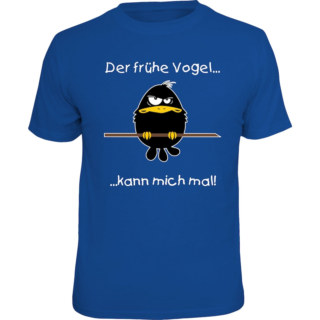 Rahmenlos T-Shirt mit coolem Front-Print
