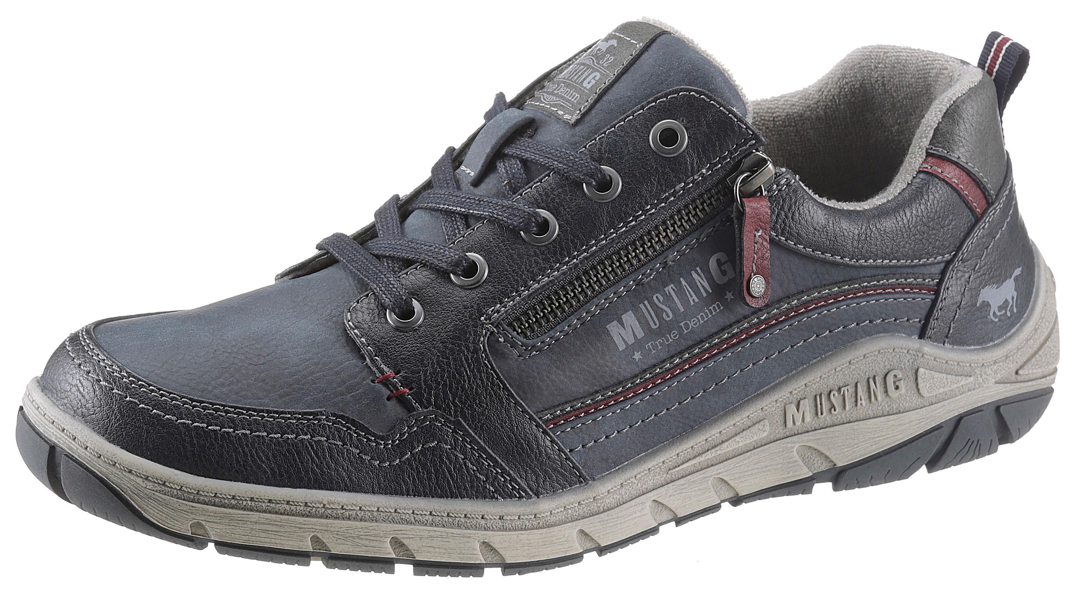 mustang shoes -  Schnürschuh, mit dezenten Kontrastdetails