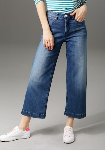 Aniston CASUAL 7/8-Jeans, in Used-Waschung kaufen