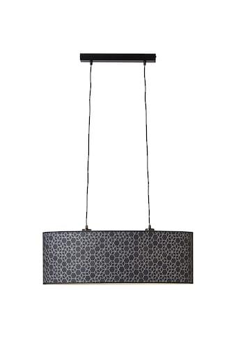 Brilliant Leuchten Deckenleuchten, E27, Galance Pendelleuchte 2flg schwarz kaufen