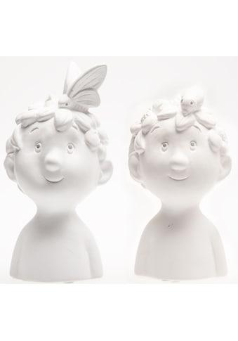VALENTINO Wohnideen Dekofigur »Büste Bo«, aus Keramik kaufen