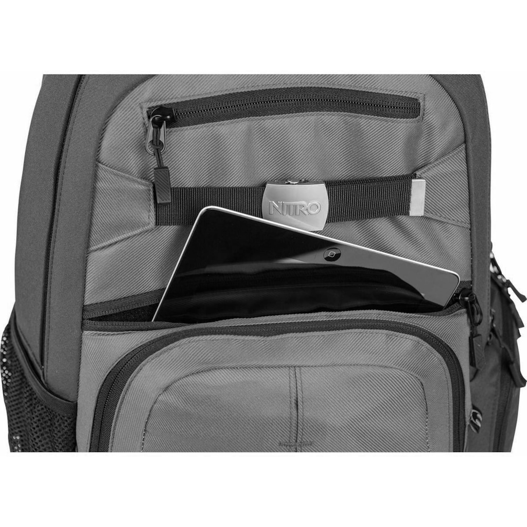 NITRO Schulrucksack »Hero, Black Checker«, mit Laptopfach