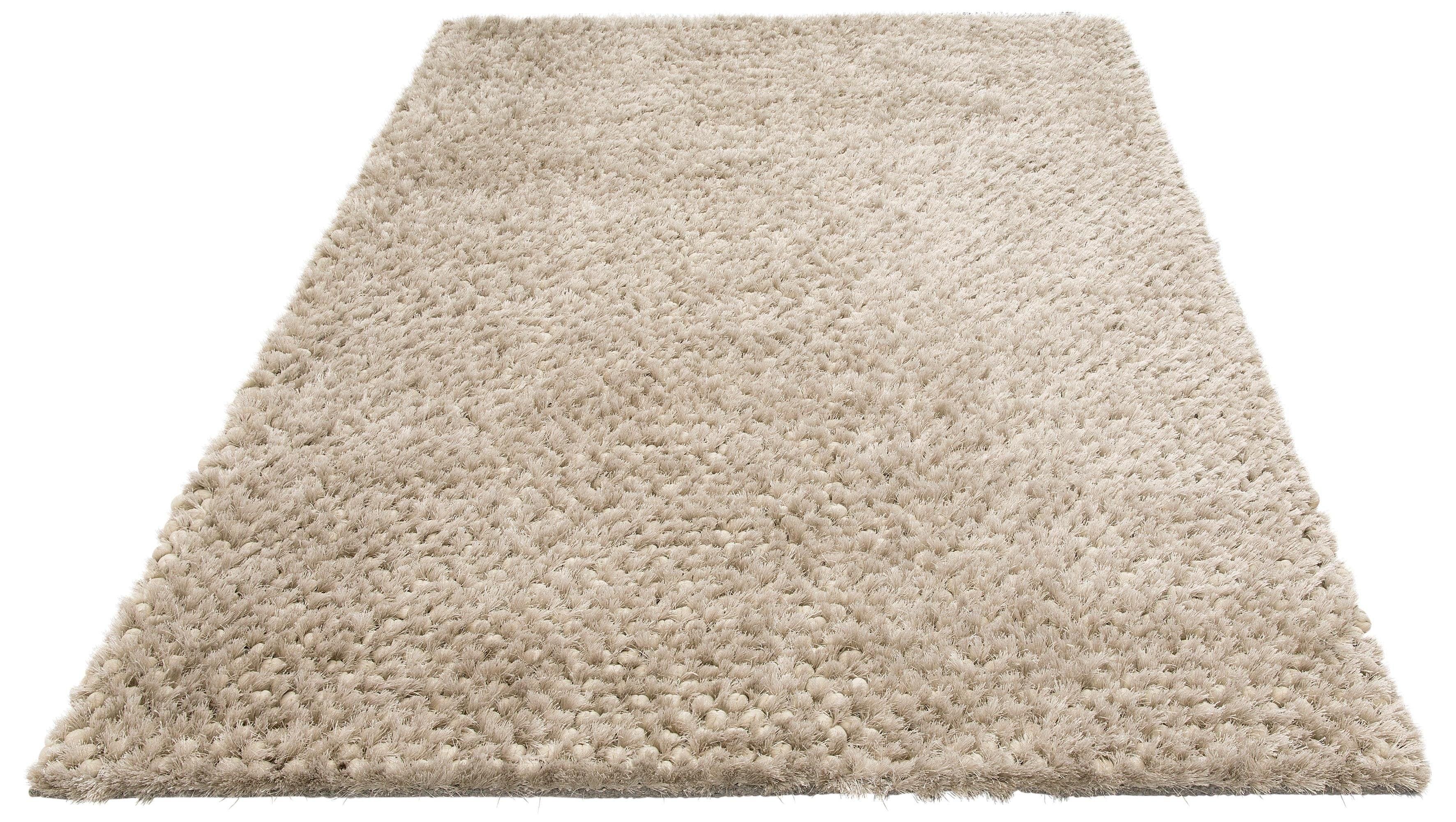 Hochflor-Teppich Rasgulla Leonique rechteckig Höhe 50 mm handgewebt