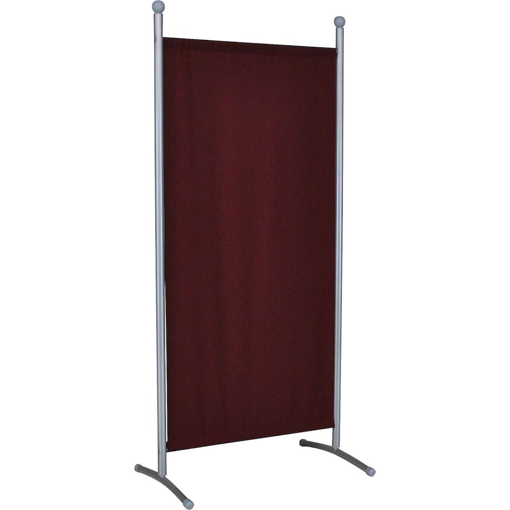 Angerer Freizeitmöbel Stellwand »Klein bordeaux«, (B/H): ca. 82x178 cm