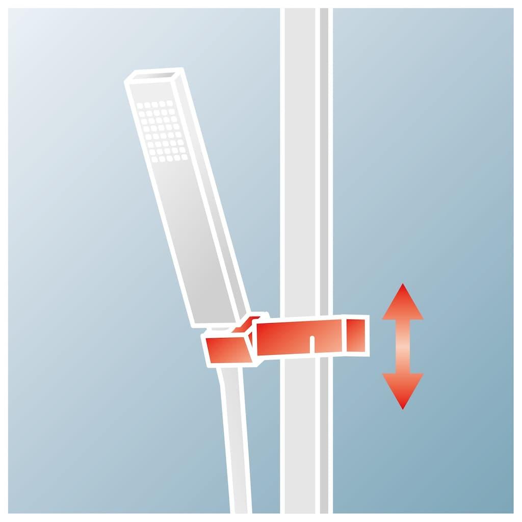 Schulte Duschsystem »Modern«, mit Thermostat, Ablage und Kopfbrause