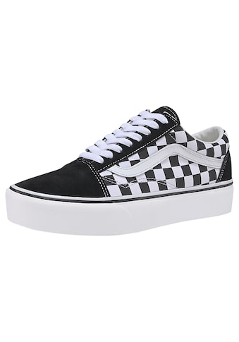 Vans Plateausneaker »Old Skool Platform Checkerboard« kaufen