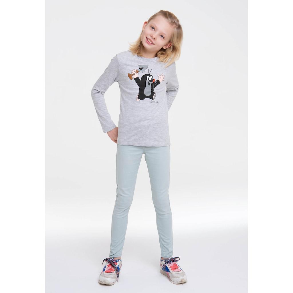 LOGOSHIRT Print-Shirt, mit Der kleine Maulwurf-Aufdruck
