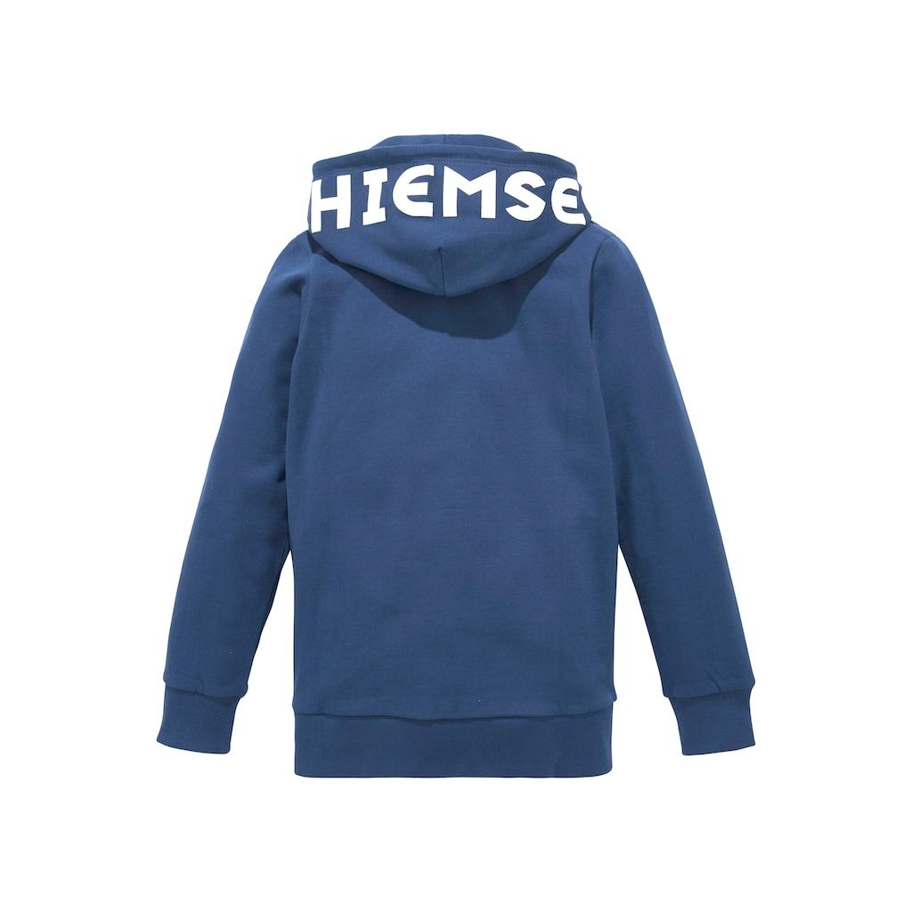 Chiemsee Kapuzensweatshirt, Kapuze mit großem Logodruck