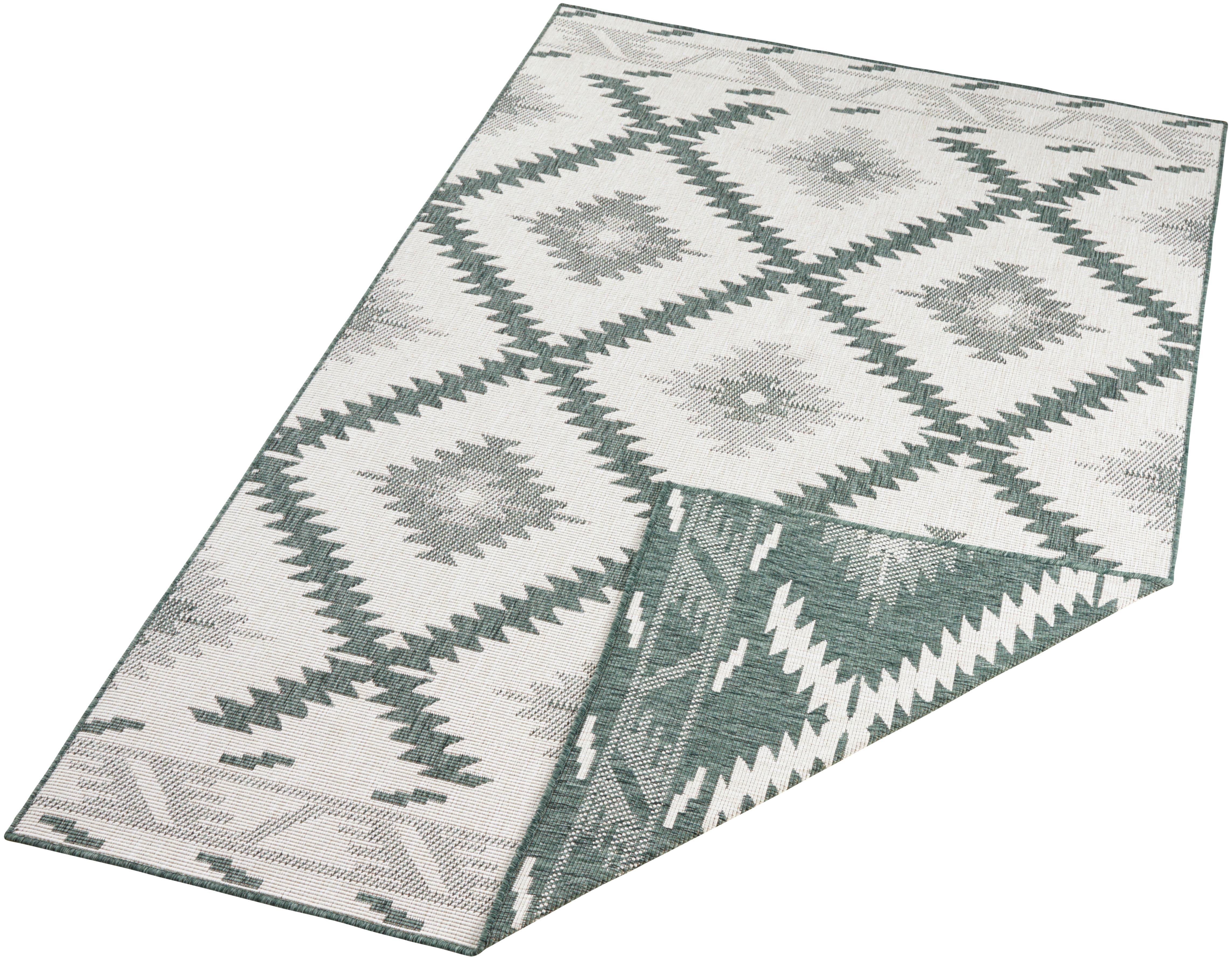 Teppich Malibu bougari rechteckig Höhe 5 mm maschinell gewebt