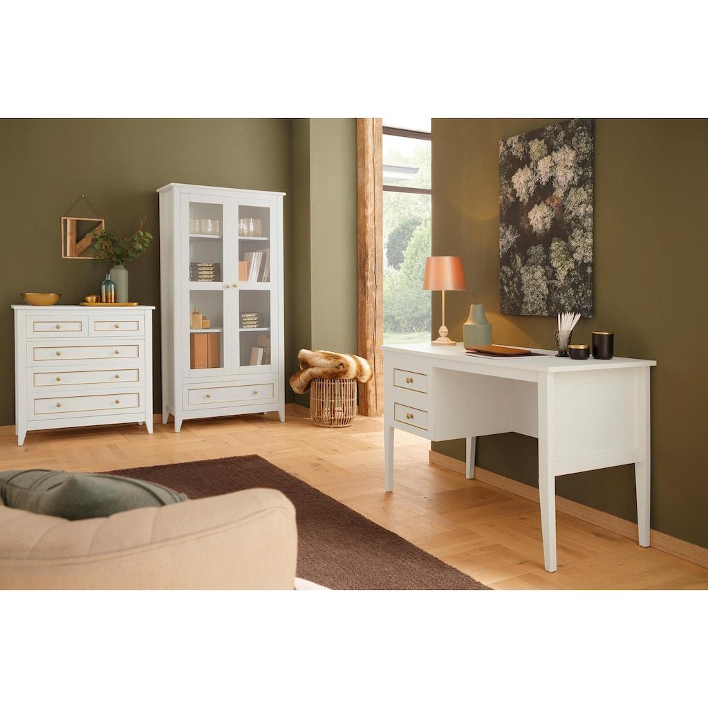 Home affaire Vitrine »Victoria«, mit schöner folierter pflegeleichter Oberfläche, Breite 92 cm