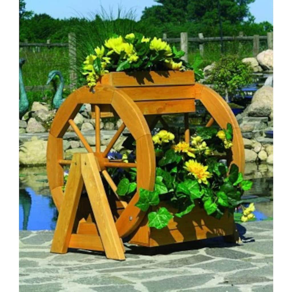 promadino Pflanzkübel »Blumenrad«, ØxH: 59x63 cm