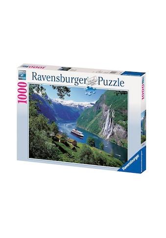 "Ravensburger Puzzle ""Norwegischer Fjord"" kaufen"