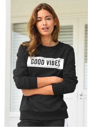 s.Oliver Bodywear Sweatshirt, mit Frontdruck «Good Vibes» kaufen