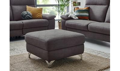 """3C Carina Polsterhocker »Florus«, passend zum Sofa """"Florus"""", in 2 Bezugsqualitäten kaufen"""