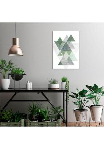 Reinders! Wandbild »Slim Frame Wood 50x70 Geometric Patterns« kaufen