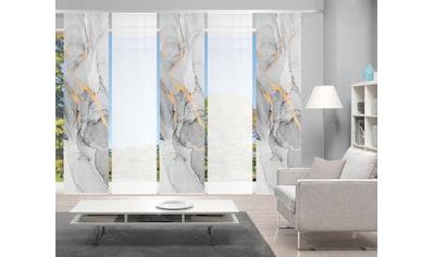 Vision Schiebegardine »MARMOSA 5er SET«, Bambus-Optik, Digital bedruckt kaufen