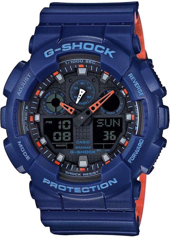 CASIO G-SHOCK Chronograph GA-100L-2AER   Uhren > Chronographen   Casio G-Shock