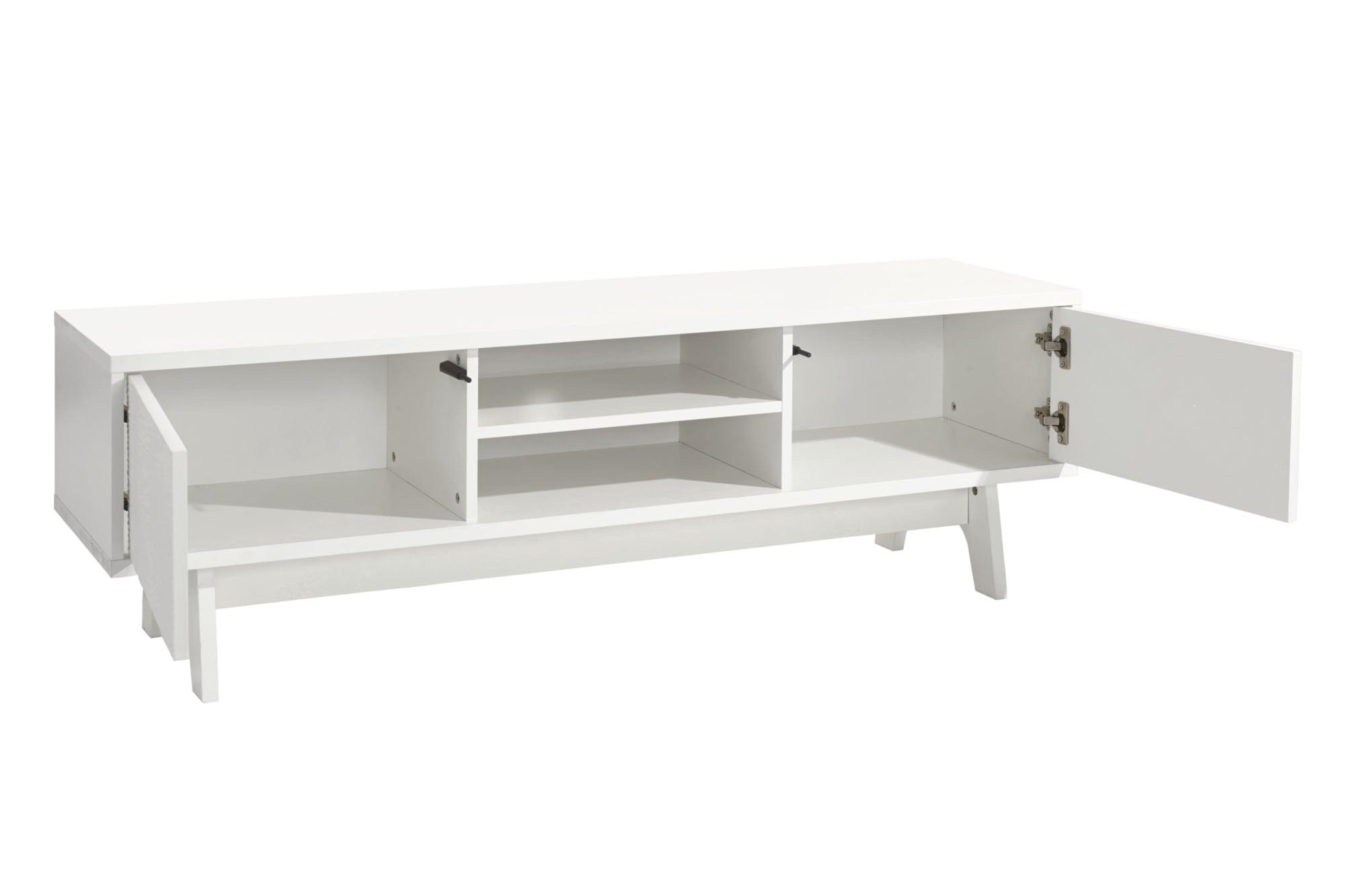 home TV-Lowboard weiß ca. 46,5/147/40 cm