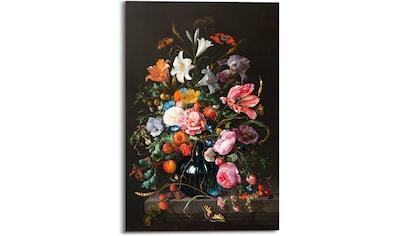 Reinders! Holzbild »Stilleben Blumen in Vase Jan Davidsz de Heem«, (1 St.) kaufen