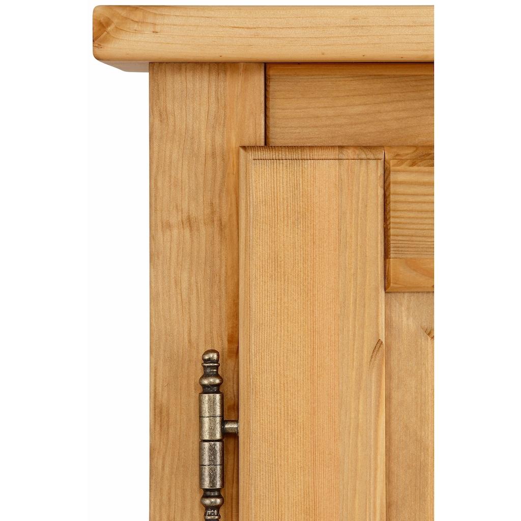 Home affaire Wäscheschrank »Teo«, 2trg mit 1 Schublade und 2 Einlegeböden, Breite 95 cm