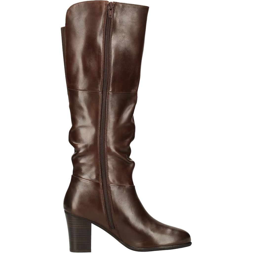 Steven New York High-Heel-Stiefel »Leder«